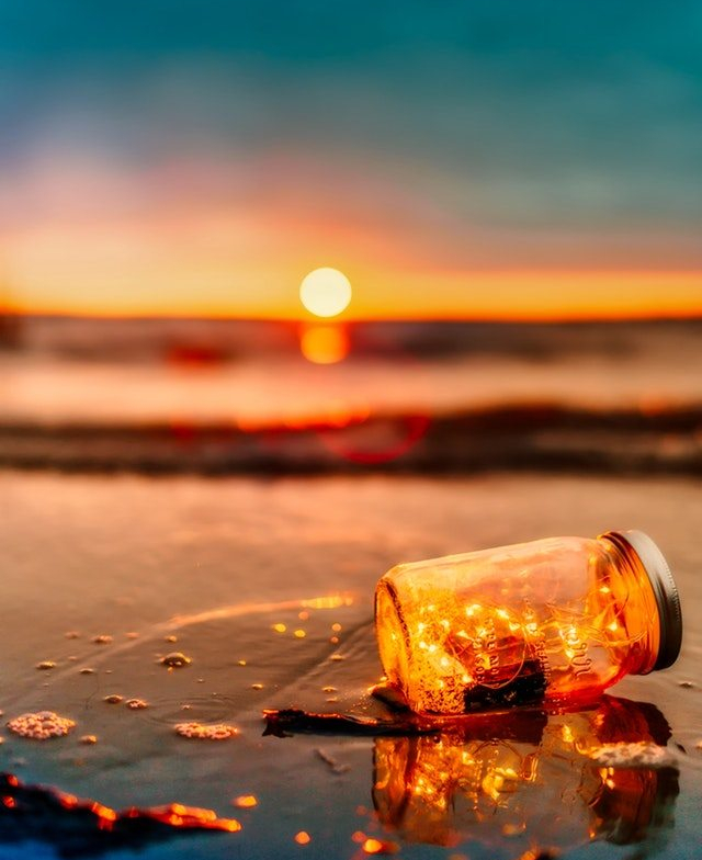 Message in a bottle, courtesy of Pexels.com